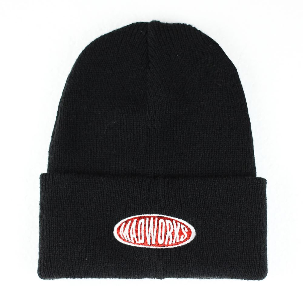 MADWORKS OVAL BEANIES HAT 2COLOR