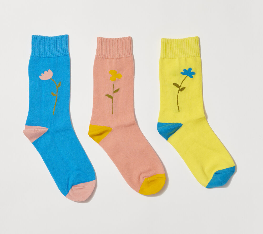 PARK DELI SINGLE STEM SOCK 3COLOR