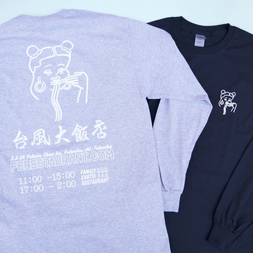 台風大飯店 BP L/S TEE 2COLOR