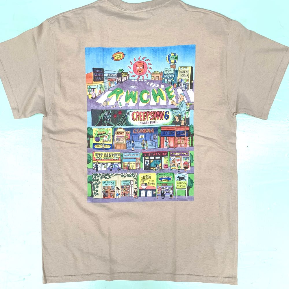RWCHE TOWN S/S TEE 2COLOR