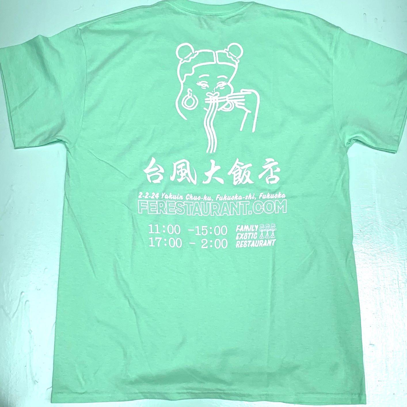 台風大飯店 BACK PRINT S/S TEE 2COLORS TD-06