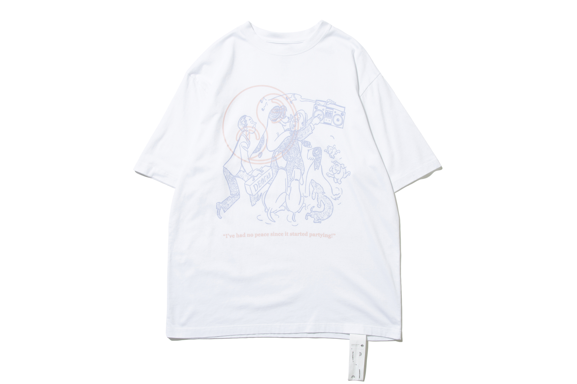DeMarcoLab  PARTYING TEE 2COLORS