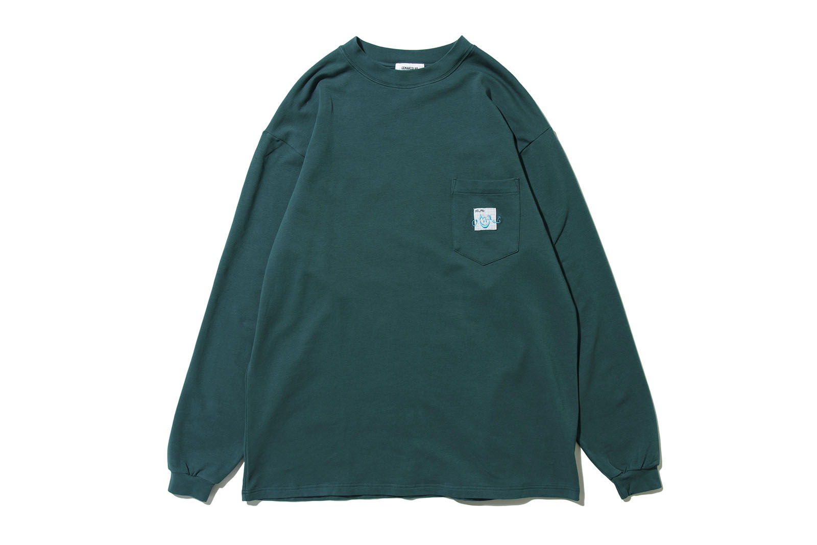 DeMarcoLab AsCIID L/S HEAVY POCKET TEE 2COLORS