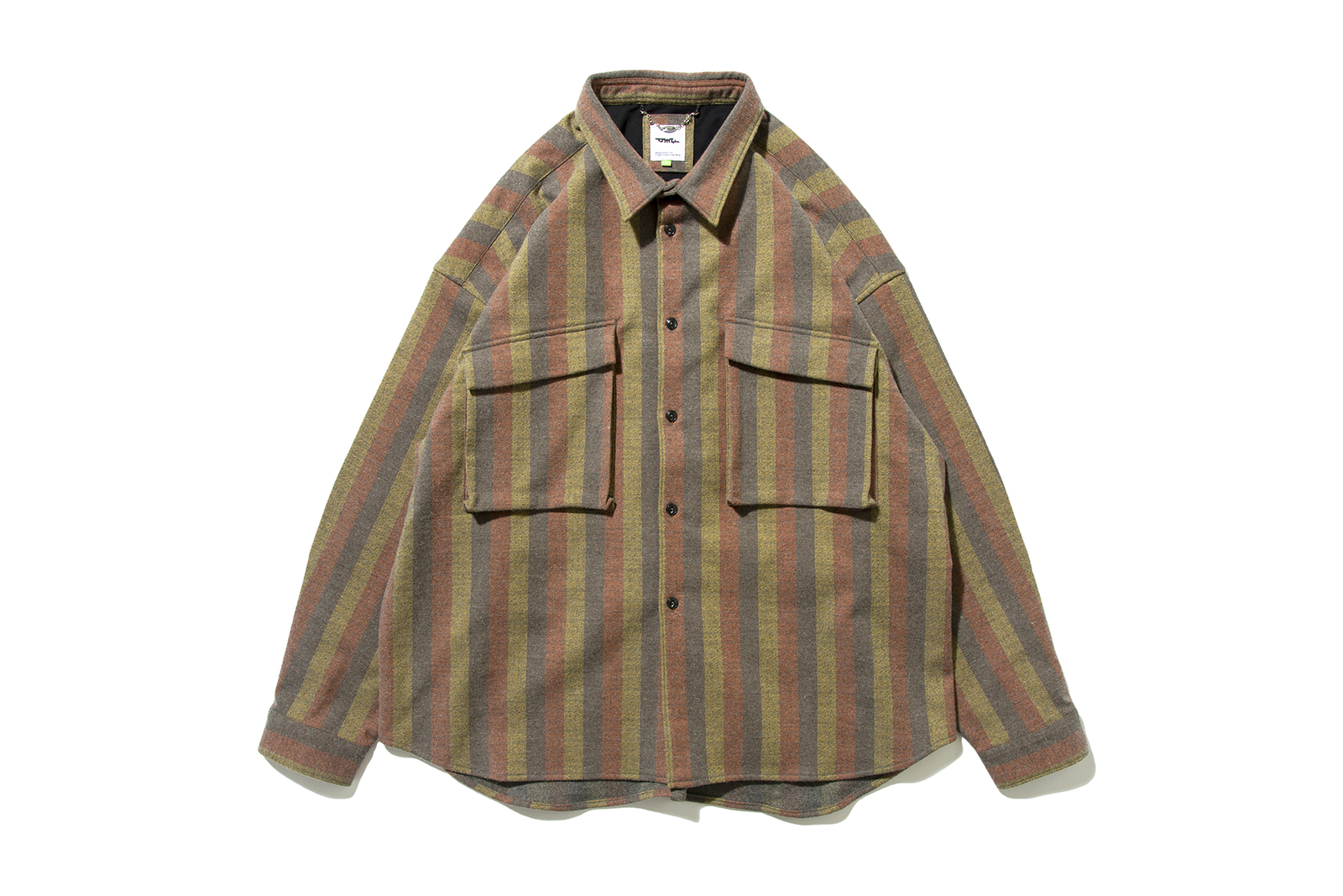 DeMarcoLab TEK WOOL SHIRT 2COLOR